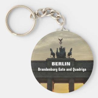 Llavero Tor de BERLÍN Brandenburger