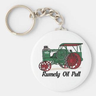 Llavero Tractor del tirón del aceite de Rumely