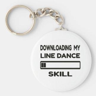 Llavero Transferencia de mi habilidad del cuerpo de baile