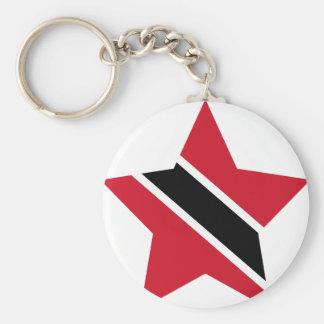 Llavero Trinidad+y+Estrella de Trinidad y Tobago
