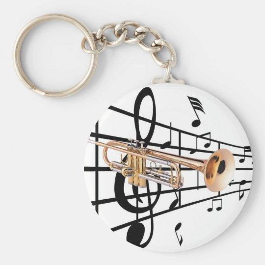 Llavero trompeta