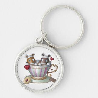 Llavero Una taza de té y una rebanada de Bake® - mi taza