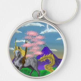 Llavero Unicornio de la naturaleza