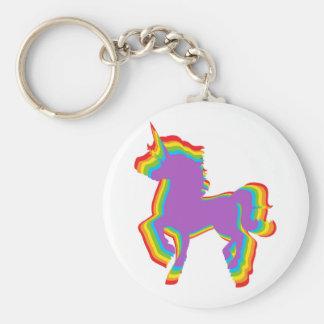 Llavero Unicornio del arco iris de LGBT