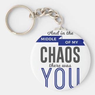 Llavero Usted en el caos