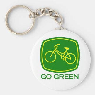 Llavero Va el verde