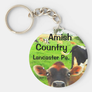 Llavero ¡Vacas del país de Amish! Lancaster