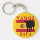 Llavero Vamos Rafa con la bandera de España