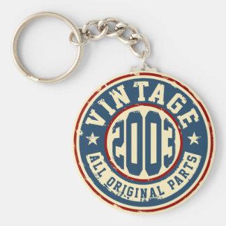Llavero Vintage 2003 todas las piezas de la original