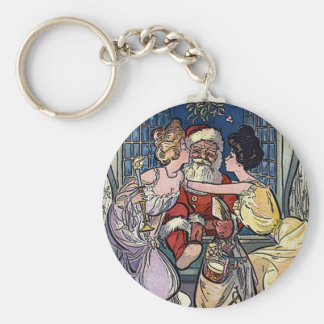 Llavero Vintage Papá Noel