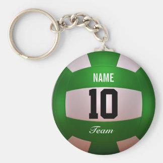 Llavero Voleibol Forest Green del personalizar