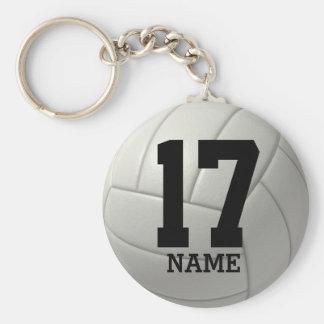 Llavero Voleibol personalizado (nombre y número)