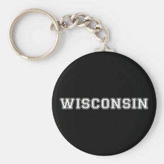 Llavero Wisconsin