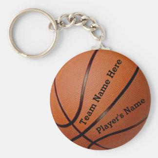 Llaveros baratos conocidos del baloncesto del