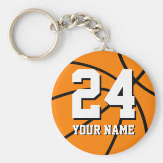 Llaveros del baloncesto del número 24 el |