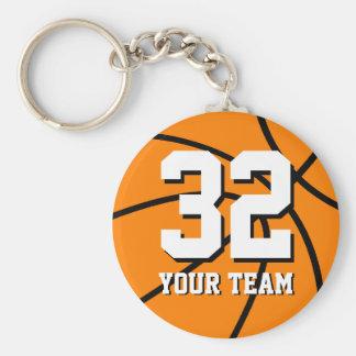 Llaveros del baloncesto del número 32 el |