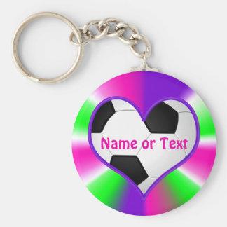 Llaveros lindos estupendos baratos del fútbol