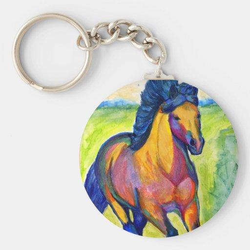 Llaveros pintados del caballo 2   Zazzle