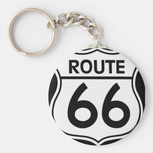 """Llaveros """"ROUTE 66"""""""