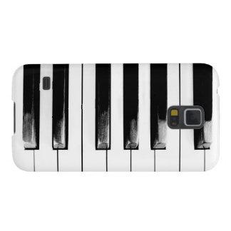 Llaves antiguas del piano funda para galaxy s5