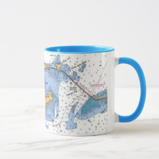 Llaves de la Florida, taza de café náutica