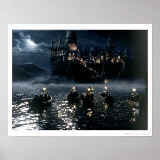 Llegada del castillo el   de Harry Potter en Póster