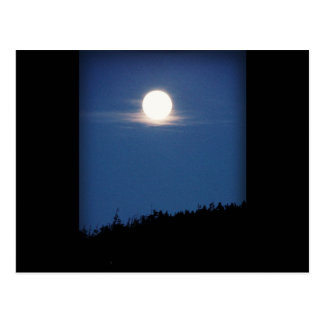 Llena de Luna Postal