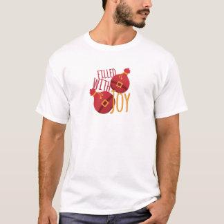 Llenado de alegría camiseta