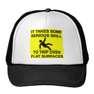 Lleva habilidad seria el viaje sobre superficies gorras