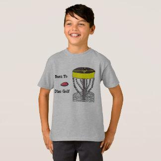 Llevado a la camiseta de la juventud del golf del