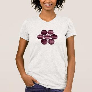 Llevado alrededor de la flor camisetas