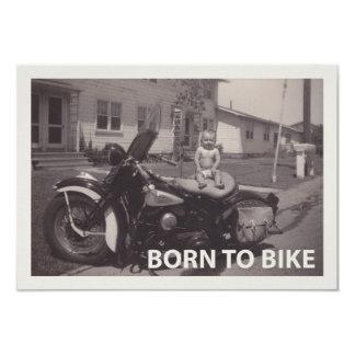 llevado bike invitación 8,9 x 12,7 cm