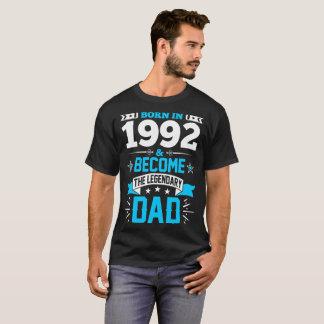 Llevado en 1992 y hecho la camiseta legendaria del
