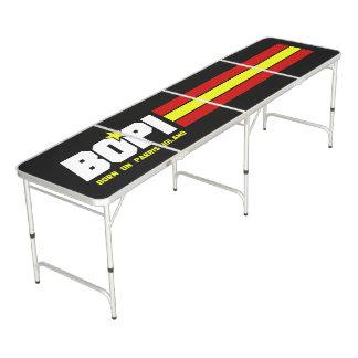 """""""Llevado en tabla de regla de Pong de la cerveza Mesa De Pong"""