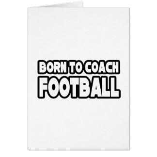 Llevado entrenar fútbol felicitación