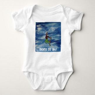 Llevado esquiar chaleco del bebé body para bebé