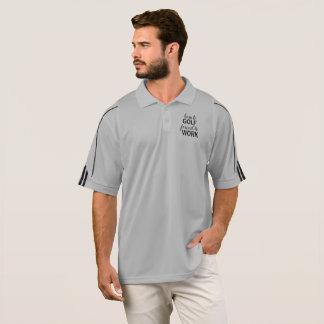 Llevado Golf forzado para trabajar la camiseta