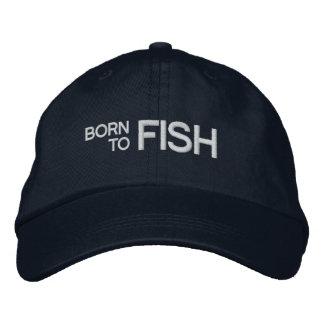 Llevado pescar el gorra bordado gorra de beisbol bordada