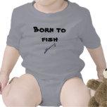 ¡Llevado pescar! Trajes De Bebé