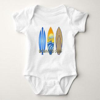 Llevado practicar surf body para bebé
