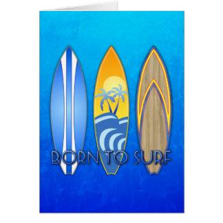 Llevado practicar surf felicitaciones