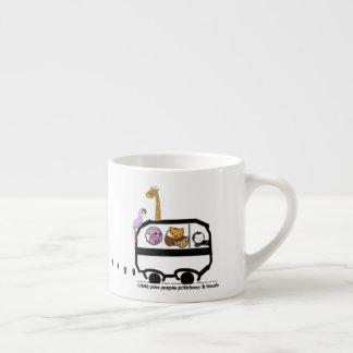 ¡Llevado ser salvaje! Taza De Espresso