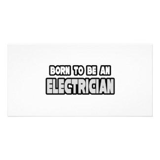 Llevado ser un electricista tarjetas personales