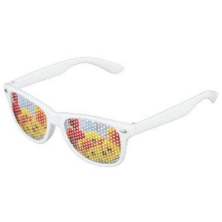 Lleve las flores gafas de sol