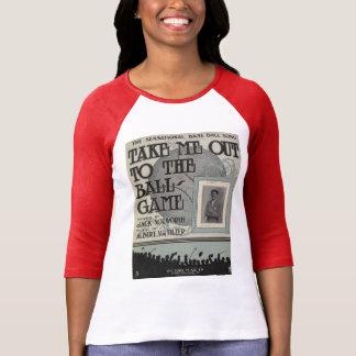 Lléveme hacia fuera a la camiseta del juego de