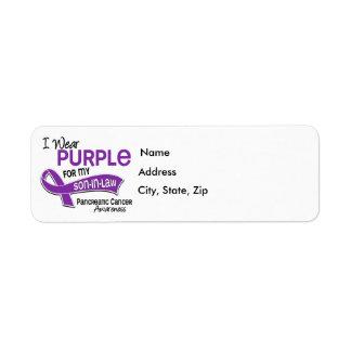 Llevo al cáncer pancreático del yerno de la etiqueta de remite