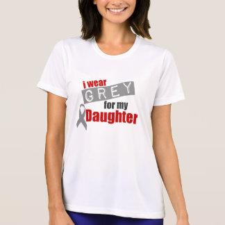 Llevo el gris para mi hija camiseta
