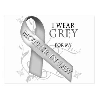 Llevo el gris para mi suegra postal