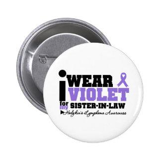Llevo el linfoma violeta de Hodgkins de la cuñada Chapa Redonda 5 Cm