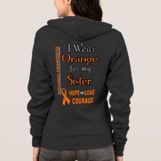 Llevo el naranja para… la hermana sudadera